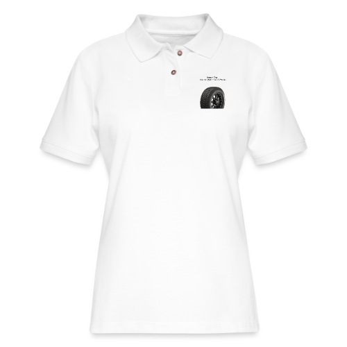 Tire Pressure - Women's Pique Polo Shirt
