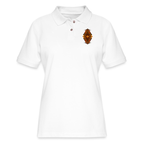 Eternal Voyage III - Fire - Women's Pique Polo Shirt