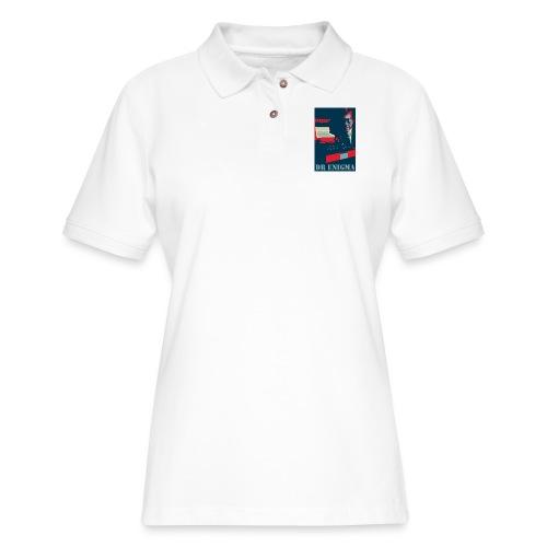 Dr Enigma+Enigma Machine - Women's Pique Polo Shirt