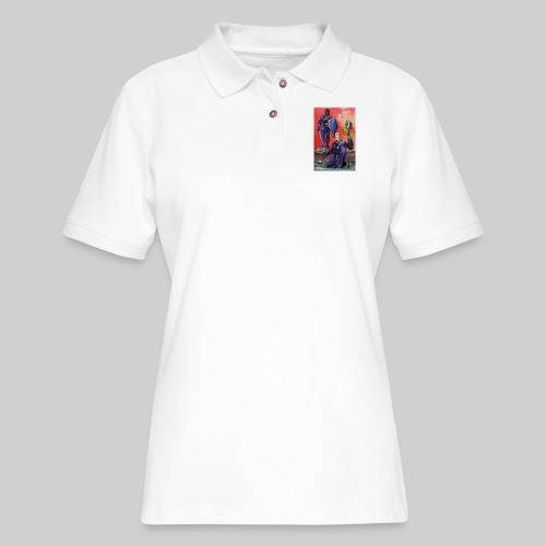 ELF AND KNIGHT - Women's Pique Polo Shirt