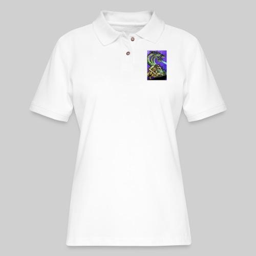 Hydra and Demon - Women's Pique Polo Shirt