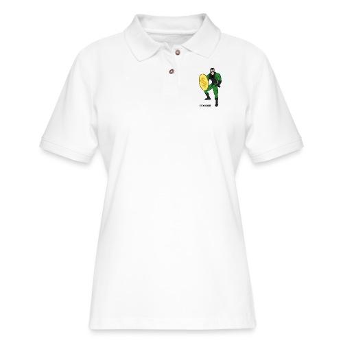 Superhero 4 - Women's Pique Polo Shirt