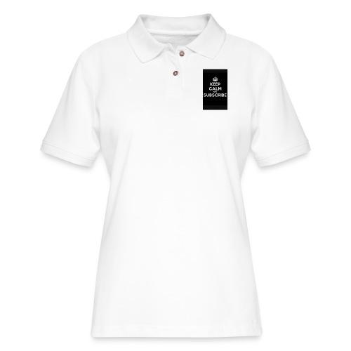 Keep calm merch - Women's Pique Polo Shirt
