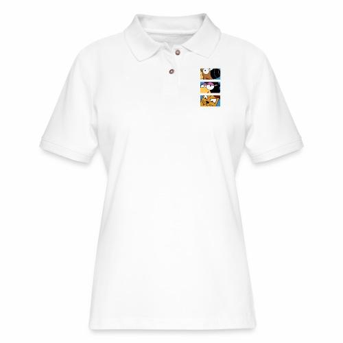 Rantdog Trio - Women's Pique Polo Shirt