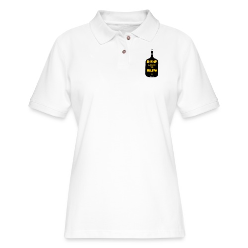 Home Is Where The Brew Is - Women's Pique Polo Shirt