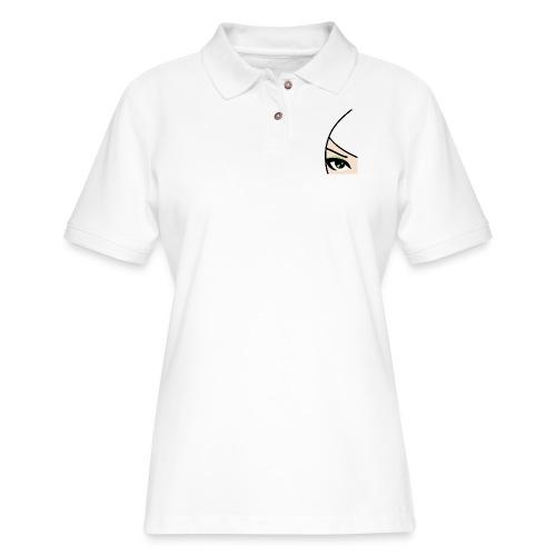 Banzai Chicks Single Eye Women's T-shirt - Women's Pique Polo Shirt