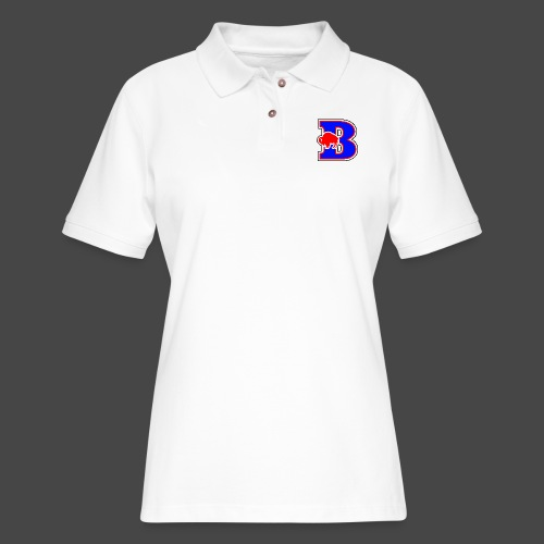 B BUFFALO - Women's Pique Polo Shirt