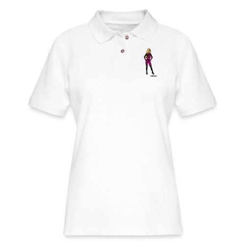 Superhero 5 - Women's Pique Polo Shirt