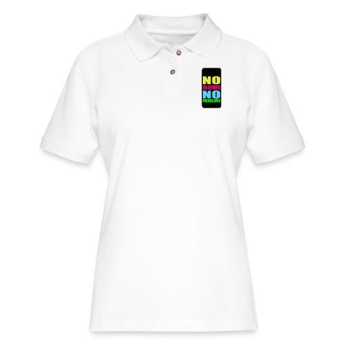 neonnosleevesiphone5 - Women's Pique Polo Shirt