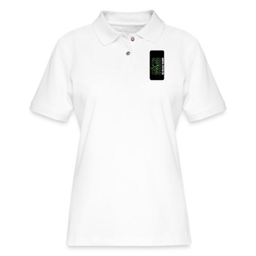 syntiphone5 - Women's Pique Polo Shirt