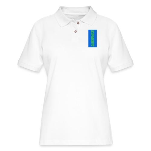 audiencegreen5 - Women's Pique Polo Shirt