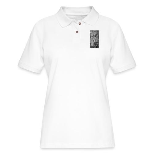 blackiphone5 - Women's Pique Polo Shirt