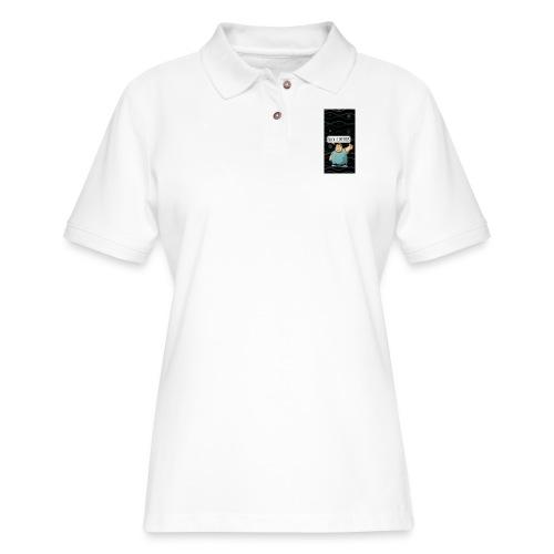 nerdiphone5 - Women's Pique Polo Shirt