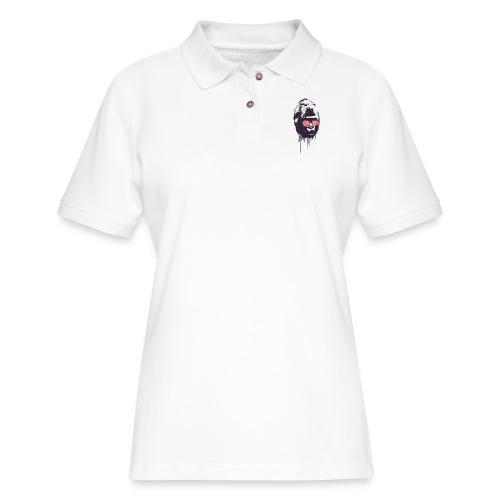 xray gorilla - Women's Pique Polo Shirt
