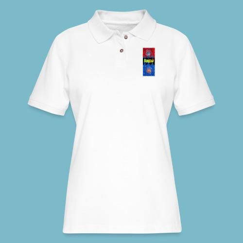 logo5 - Women's Pique Polo Shirt