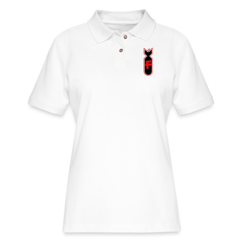 Character Crusade Fbomb - Women's Pique Polo Shirt