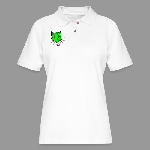 Voodoo Kitty - Women's Pique Polo Shirt