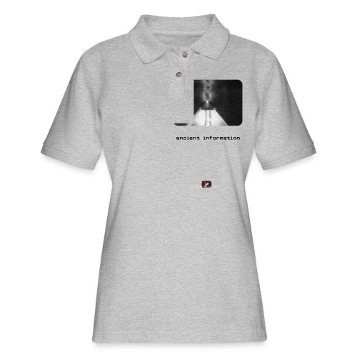 'Ancient Information' - Women's Pique Polo Shirt