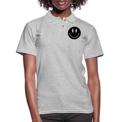 Smiley - Women's Pique Polo Shirt