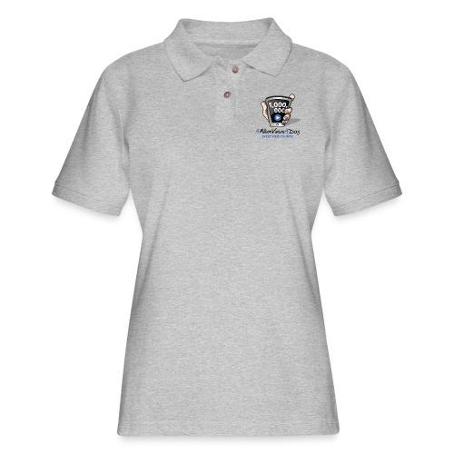 AMillionViewsADay - every view counts! - Women's Pique Polo Shirt