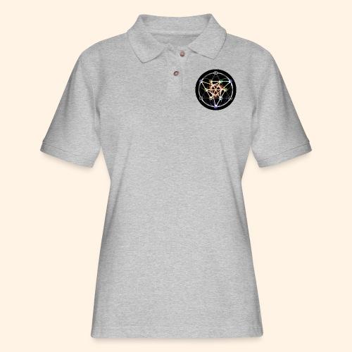 Classic Alchemical Cycle - Women's Pique Polo Shirt