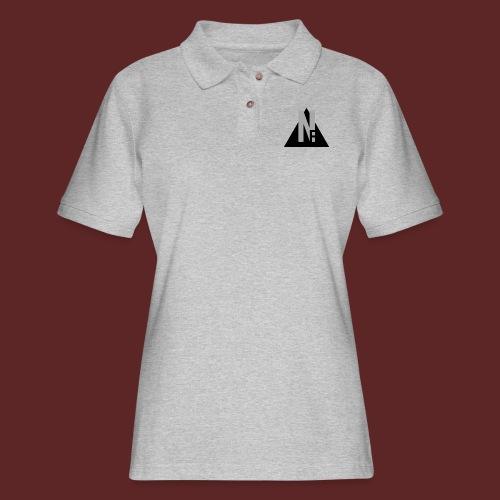 Basic NF Logo - Women's Pique Polo Shirt
