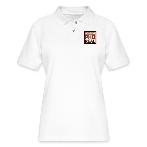 trust me i'm Pho Real - Women's Pique Polo Shirt