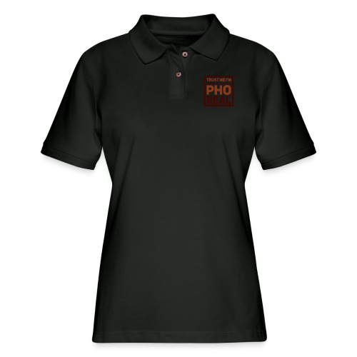 trust me i'm Pho Real - Women's Pique Polo Shirt