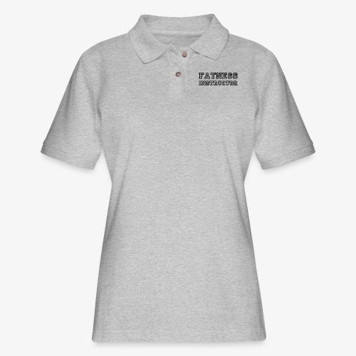 Fatness Instructor - Women's Pique Polo Shirt