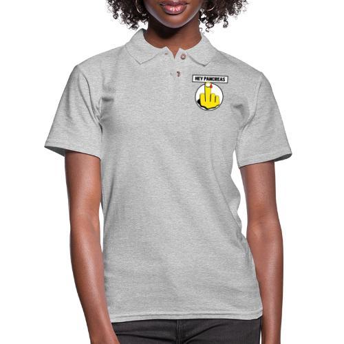 Hey Pancreas - Women's Pique Polo Shirt