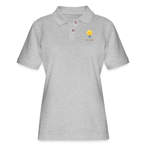 Idea Bulb - Women's Pique Polo Shirt