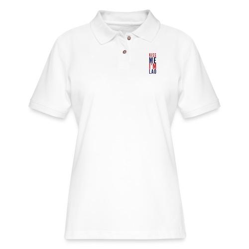Kiss Me - Women's Pique Polo Shirt