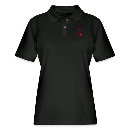 Kiss Me - Women's Pique Polo Shirt