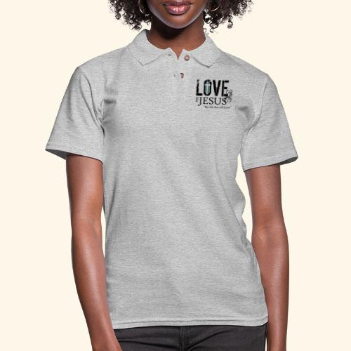 LOVE LIKE JESUS - Women's Pique Polo Shirt