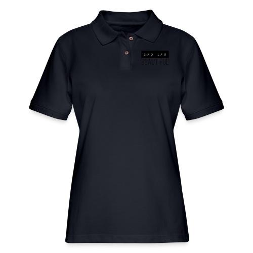 Sao Lao Beautiful - Women's Pique Polo Shirt