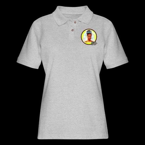 Black Woman Magic - Women's Pique Polo Shirt