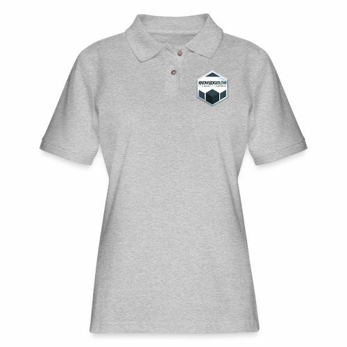KnowledgeFlow Cybersafety Champion - Women's Pique Polo Shirt