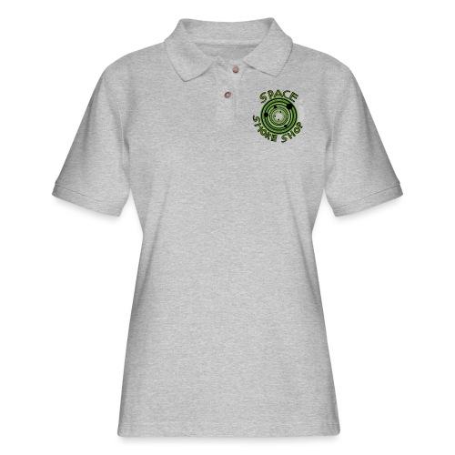 VIdeo Game Logo - Women's Pique Polo Shirt