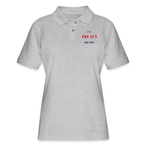 pro gun - Women's Pique Polo Shirt