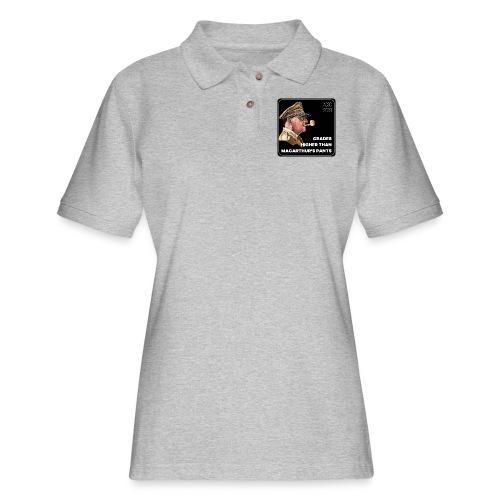 MacArthurs Grades - Women's Pique Polo Shirt