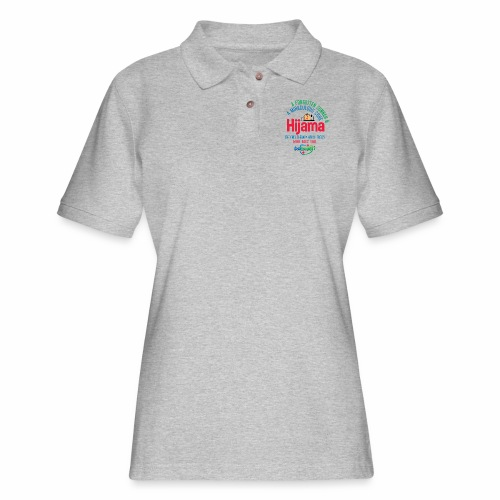 Hijama/Cupping/ Cupping therapy/ BD Health - Women's Pique Polo Shirt