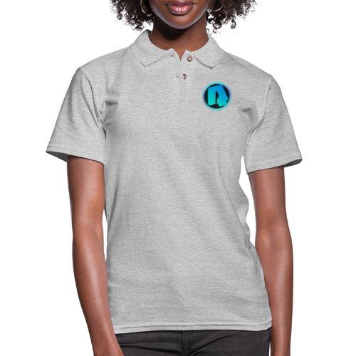Channel Logo - qppqrently Main Merch - Women's Pique Polo Shirt