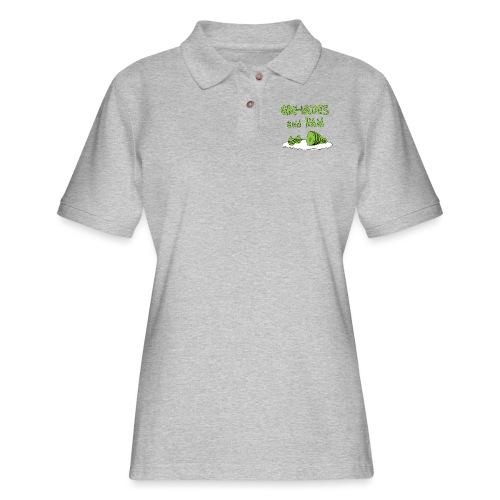 Gre-nades and Ham - Women's Pique Polo Shirt