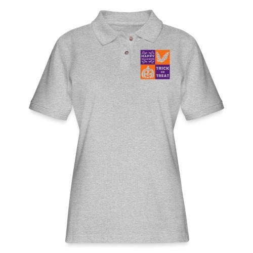 Halloween Trick or Treat - Women's Pique Polo Shirt