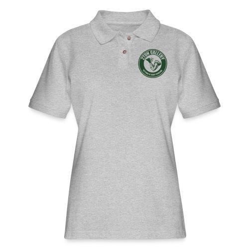 blackout - Women's Pique Polo Shirt