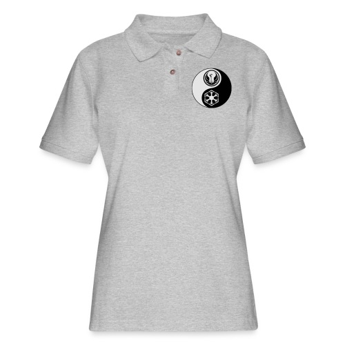 Star Wars SWTOR Yin Yang 2-Color - Women's Pique Polo Shirt