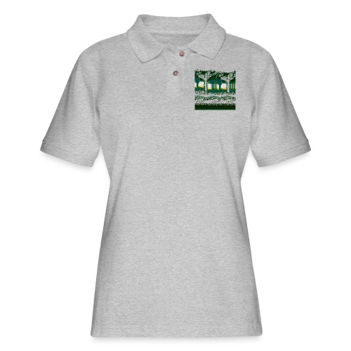 Forest - Women's Pique Polo Shirt