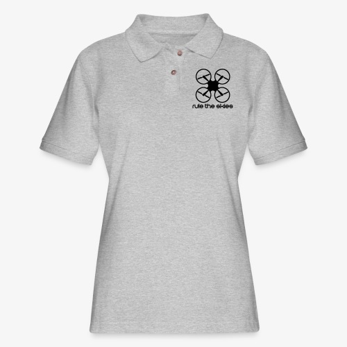 Rule the Skies - Women's Pique Polo Shirt