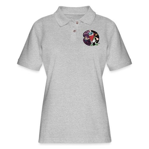 PURE - NYG Design - Women's Pique Polo Shirt