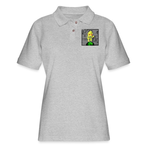 Hollow Earth Mug - Women's Pique Polo Shirt